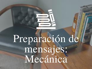 Preparación de mensajes: Mecánica icon