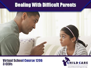 CEU Course 1206 - Strategies for Dealing With Difficult Parents icon