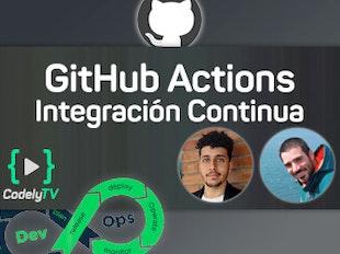 Integración Continua con GitHub Actions icon