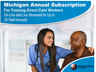 Michigan AFC Direct Care Worker Group Subscription Version icon