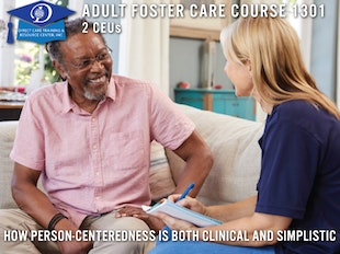 Adult Day Care Course 1301 - Person Centeredness icon