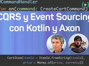 CQRS y Event Sourcing con Kotlin y Axon Framework icon