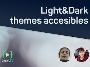 Light & Dark themes accesibles icon