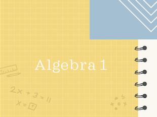 Algebra 1 icon
