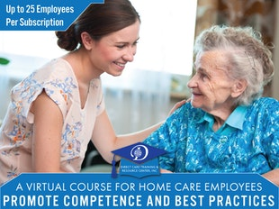 40-Hour: Private Duty Home Care & Attendant Care Training & Staff Development Subscription icon
