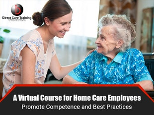 Private Duty Home Care & Attendant Care Training & Staff Development Subscription icon