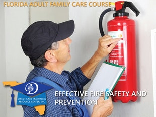 Florida Adult Family Care - Effective Fire Safety and Prevention In development, do not purchase before April 1, 2021 icon