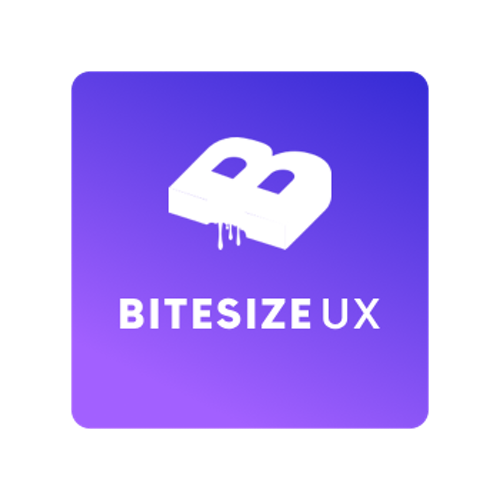 Bitesize UX icon