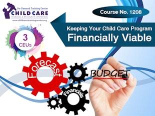 CEU 1208 - Keeping Your Child Care Program Financially Viable icon
