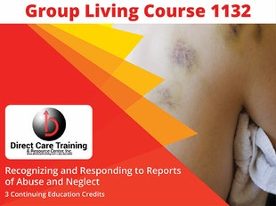 Group Living Course 1132 - Recognizing and Responding to Abuse and Neglect icon