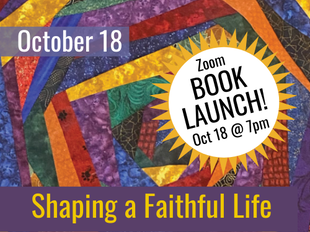 Shaping a Faithful Life Book Launch icon