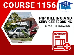 Course #1156 - PIP Billing and Service Documentation - Under edit until 5-1-2021 icon