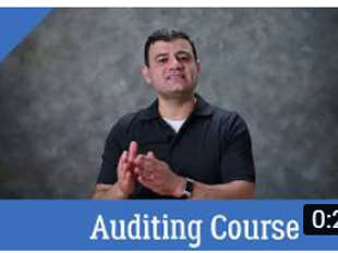 Auditing And Attestation Course icon