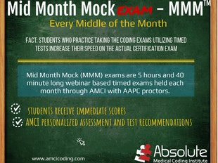 AMCI CPC Prep Mid Month Mock Exam (MMM) icon
