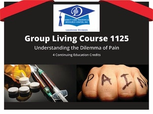 Group Living Course 1125 - Understanding the Dilemma of Pain icon