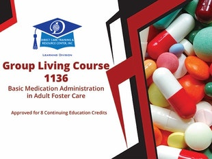 Group Living Course Number 1136 - Basic Medication Administration icon