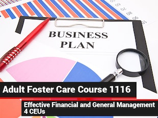 Group Living Course 1116 - Adult Foster Care Effective Financial & General Management icon