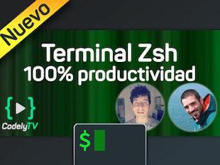 Terminal 100% productiva con Zsh icon