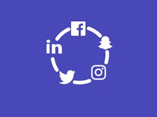 Media społecznościowe icon