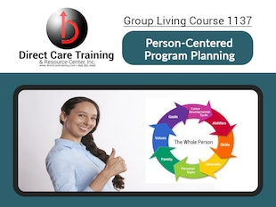 Group Living Course 1137 - Person Centered Planning icon