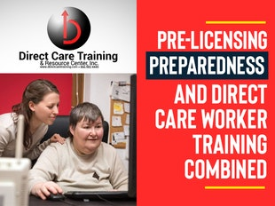 Combined Pre-Licensing Preparedness and Direct Care Worker Training icon