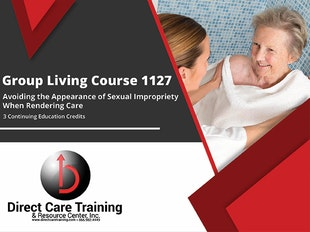 Avoiding Appearance of Sexual Impropriety When Rendering Care - A Continuing Education Course for All Care Providers icon