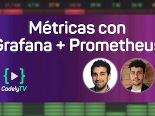 Visualiza métricas de Prometheus con Grafana icon