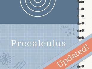 Precalculus icon
