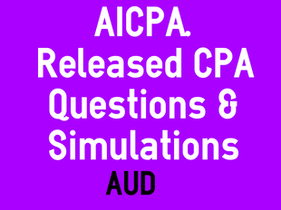 AUD: Simulations and Questions Released by AICPA icon