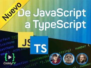 De JavaScript a TypeScript icon
