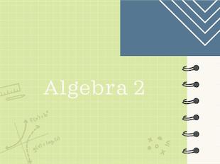 Algebra 2 icon