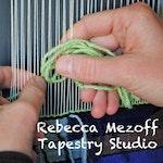 Rebecca Mezoff Tapestry Studio Image